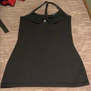 lululemon athletica Tops - Lululemon Power Y Tank Black